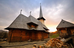 Maramures Monastery Royalty Free Stock Images