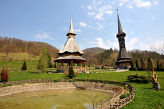 Maramures monastery Royalty Free Stock Photos