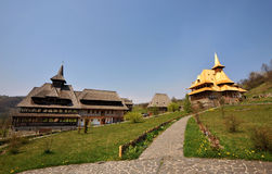 Maramures monastery Birsana Royalty Free Stock Image