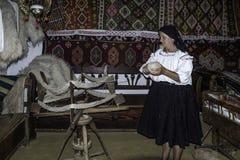 Maramures, romania, europe, ethnographic museum Stock Image