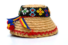 Maramures Traditional hat. On white background Stock Photo