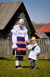 Maramures traditional people Royalty Free Stock Image
