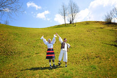 Maramures traditional people Royalty Free Stock Photography