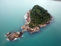 Maranduba wyspa Fotografia Royalty Free