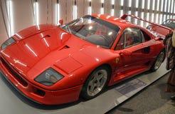Maranello, Emilia Romagna, Italie Décembre 2018 Dans le musée de Ferrari la photo le F40 image libre de droits