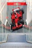 Maranello, Itália - 03 26 2013: carros desportivos Ferrari da exibição a do museu no museu fotos de stock royalty free