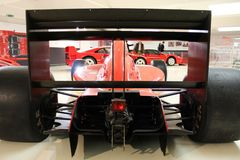 Maranello, Italia - 03 26 2013: coches deportivos Ferrari del objeto expuesto a del museo en el museo foto de archivo libre de regalías