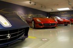 MARANELLO, ITALIA - marzo 2017 Mostra del museo di Ferrari Fotografie Stock