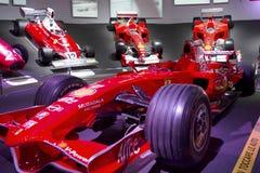 MARANELLO, ITALIA - marzo 2017 Mostra del museo di Ferrari Fotografia Stock Libera da Diritti