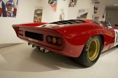 MARANELLO, ITALIA - marzo 2017 Mostra del museo di Ferrari Fotografia Stock