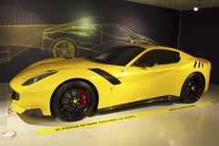 MARANELLO, ITALIA - marzo 2017 Mostra del museo di Ferrari Immagini Stock Libere da Diritti