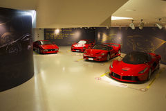 MARANELLO, ITALIA - marzo 2017 Mostra del museo di Ferrari Immagini Stock