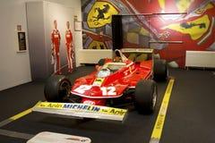 MARANELLO, ITALIA - marzo 2017 Mostra del museo di Ferrari Fotografie Stock Libere da Diritti