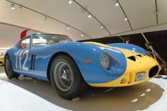 Maranello, italy: Ferrari Vintage sports car. A one off red ferrari sports car built in maranello, italy. image taken at the ferrari museum, marenello, italy stock images
