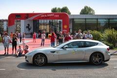 MARANELLO, MODENA, ITALIË, September 2017 - de verjaardag van Ferrari ` s zevende, sportwagen toont Royalty-vrije Stock Foto
