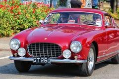 MARANELLO, MODENA, ITALIË, September 2017 - de verjaardag van Ferrari ` s zevende, sportwagen toont Stock Afbeelding