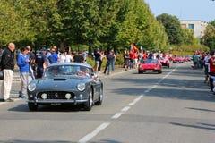 MARANELLO, MODENA, ITALIË, September 2017 - de verjaardag van Ferrari ` s zevende, sportwagen toont Stock Foto's