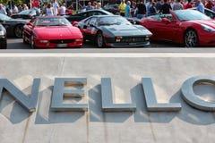 MARANELLO, MODENA, ITALY, September 2017 - Ferrari`s seventh anniversary, sports car show Royalty Free Stock Photo