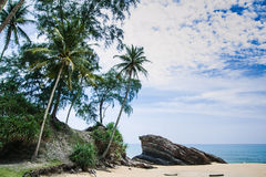 Marang Beach Royalty Free Stock Images