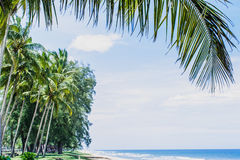 Marang Beach Stock Image
