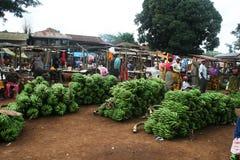 Marangu banana market Stock Image