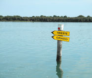 Marano Lagoon Royalty Free Stock Photography