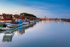 Marano Lagunare, fishing village in Friuli Venezia Giulia Stock Photography