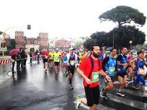 Mararathon Rzym, 23 Marzec 2014 th, Włochy Obraz Royalty Free