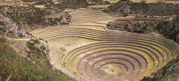 Maras, Peru Royalty Free Stock Photo