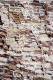 Maras salt mine Peru Stock Image