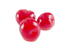 Maraschino cherry. Royalty Free Stock Image