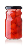 Maraschino cocktail cherries Stock Photography