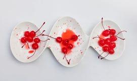 Maraschino della ciliegia Fotografie Stock