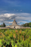 Marasesti Mausoleum. The Marasesti Mausoleum in Romania stock image