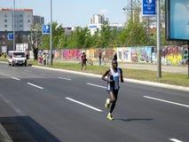 Maratón 1 de Belgrado Fotografía de archivo libre de regalías
