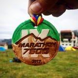 Maratón 7500 Imagen de archivo libre de regalías