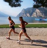 Maratón 2008 de Garda del lago fotografía de archivo libre de regalías