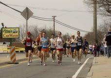 Maratón 2009 de Boston Imágenes de archivo libres de regalías
