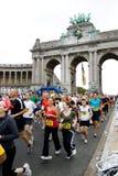 Maratón 2009 de Bruselas Foto de archivo libre de regalías
