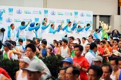 Maratón 2009 de Hong-Kong Foto de archivo