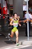 Maratón 2009 de Hong-Kong Imagenes de archivo