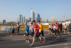 Maratón 2010 de Francfort Imágenes de archivo libres de regalías