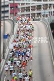 Maratón 2010 de Hong-Kong fotografía de archivo libre de regalías