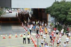 Maratón 2010 de Hong-Kong Imagen de archivo libre de regalías