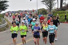 Maratón 2010 de San Francisco Imagen de archivo libre de regalías