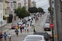 Maratón 2010 de San Francisco - calles Foto de archivo