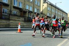 Maratón 2011, Manuel Mutai de Londres Foto de archivo libre de regalías