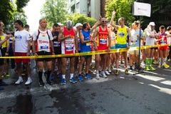 Maratón Fotografía de archivo libre de regalías