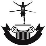 Maratón Fotografía de archivo