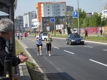 Maratón 5 de Belgrado Foto de archivo libre de regalías